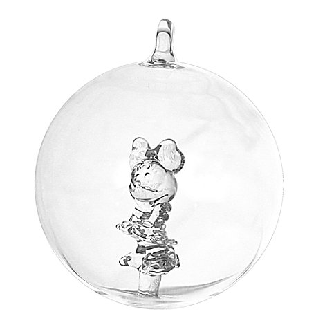 Minnie Mouse Glass Bauble