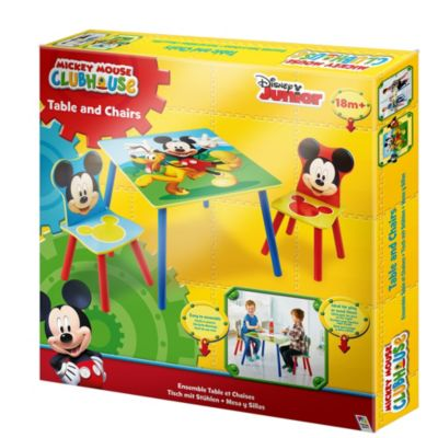 Mickey Mouse Table and Chairs Set