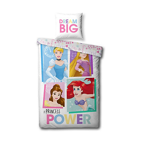 Disney Princess Reversible Single Duvet Cover Set