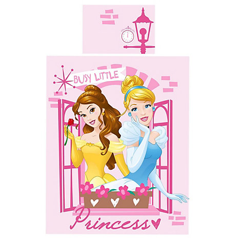 Disney Princess Boulevard Single Duvet Cover Set