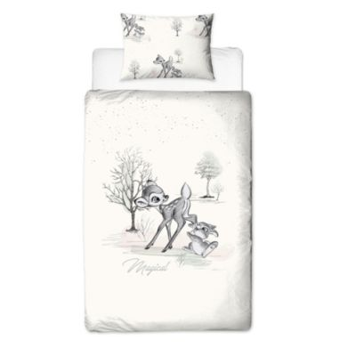 Bambi Reversible Single Duvet Cover Set