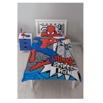Ultimate Spider-Man Reversible Single Duvet Set