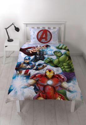 Marvel Avengers Reversible Single Duvet Cover Set