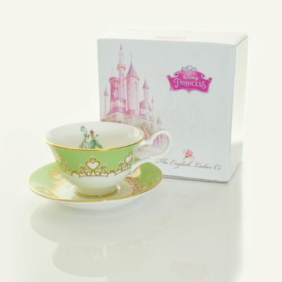 English Ladies Co. Bone China Tiana Tea Cup and Saucer
