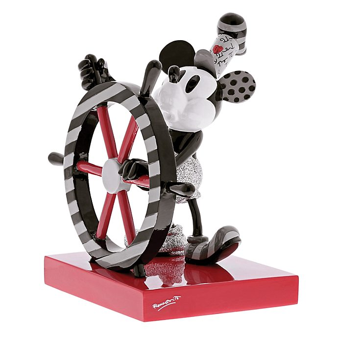 Britto Steamboat Willie Figurine