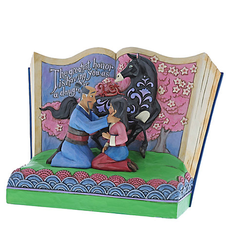 Disney Traditions Storybook Mulan Figurine