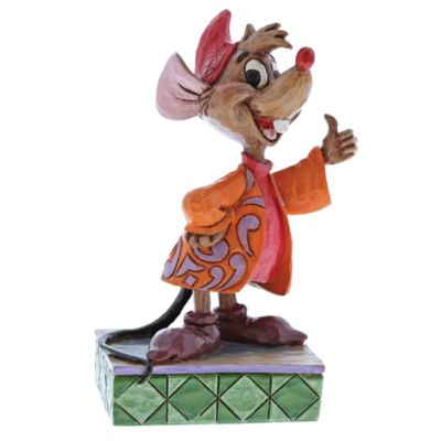Disney Traditions Jaq 'Thumbs Up' Figurine, Cinderella