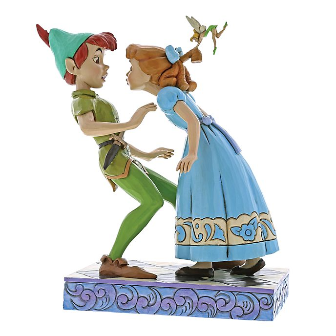 Disney Traditions Peter & Wendy 65th Anniversary Figurine