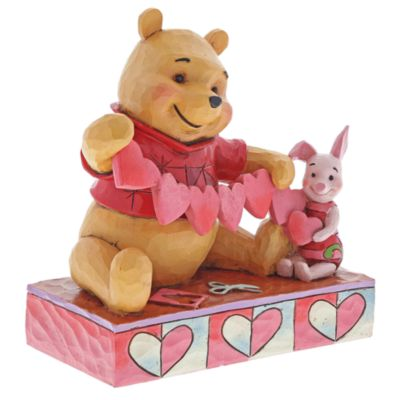 Disney Traditions Pooh and Piglet Figurine