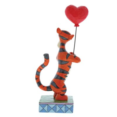Disney Traditions Tigger with Heart Balloon Figurine