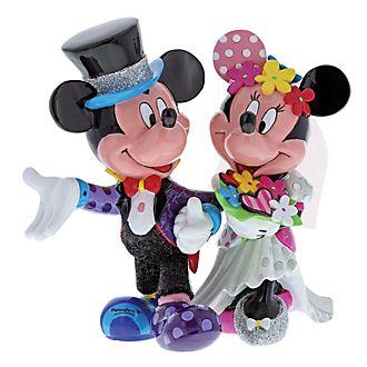 Britto Mickey and Minnie Wedding Figurine