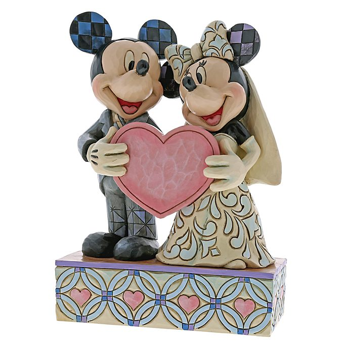 Disney Traditions Mickey and Minnie Wedding Figurine