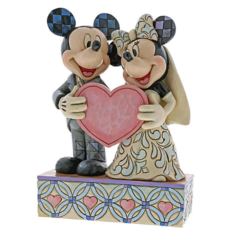 Disney Traditions Mickey and Minnie Wedding Figurine