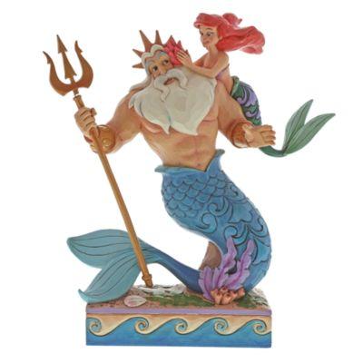 Disney Traditions Ariel and Triton Figurine