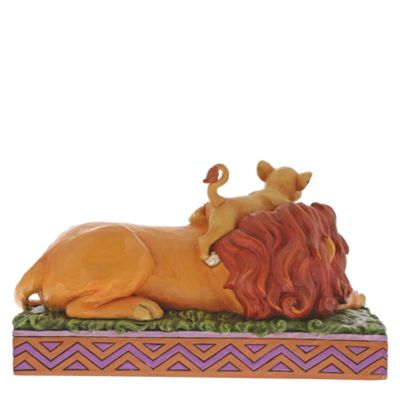 Disney Traditions Simba and Mufasa Figurine