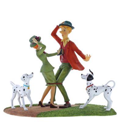 Enchanting 'Just Had to Meet' Figurine, 101 Dalmatians