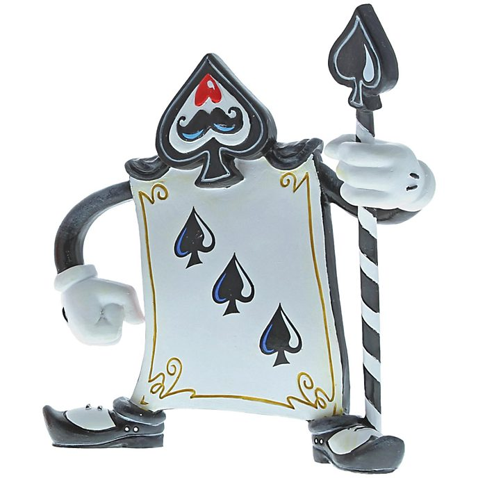 Miss Mindy Alice in Wonderland Card Guard Three of Spades Figurine
