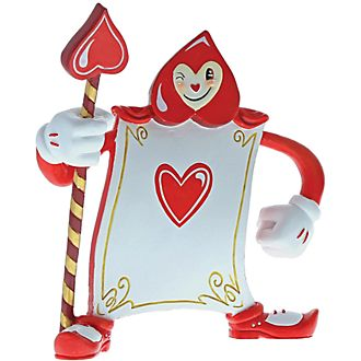 Miss Mindy Alice in Wonderland Card Guard Ace of Hearts Figurine