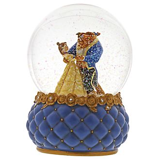Disney Traditions Beauty and the Beast Snowglobe