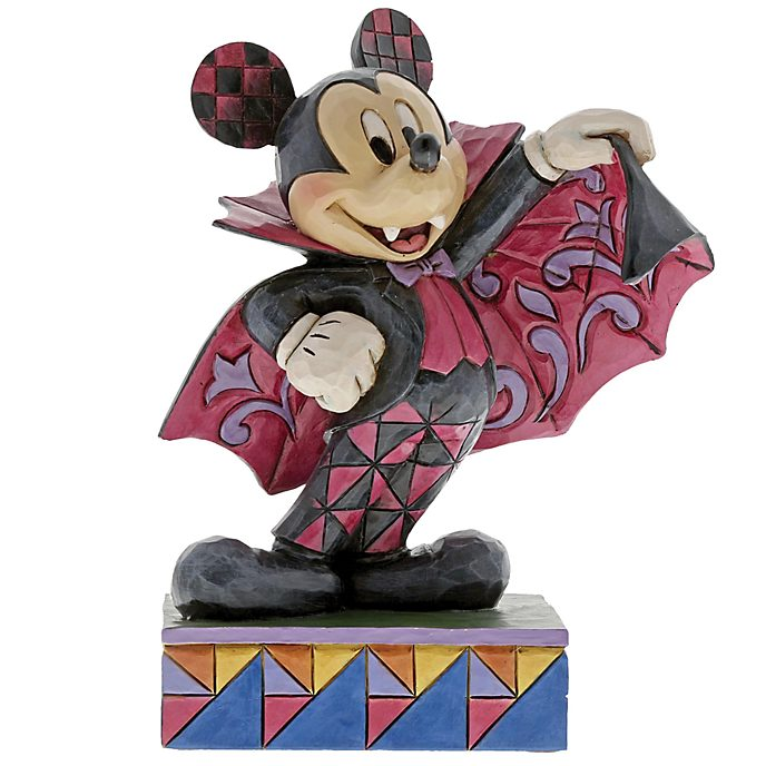 Disney Traditions Mickey Mouse Vampire Figurine