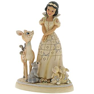 Disney Traditions Snow White Forest Friends Figurine