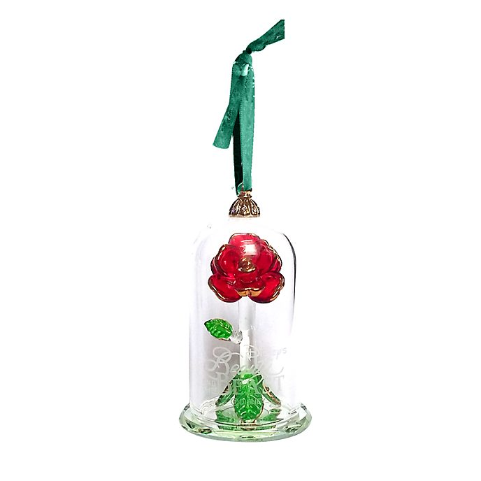Arribas Enchanted Rose Hanging Ornament