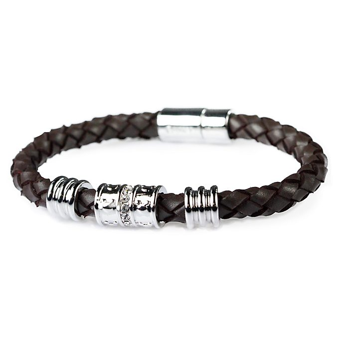 Arribas Mickey Icon Woven Bracelet