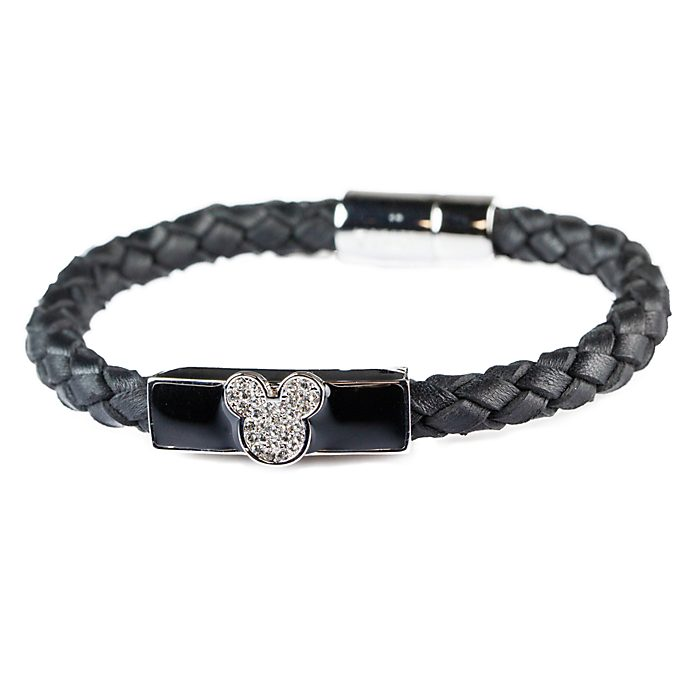 Arribas Mickey Mouse Woven Bracelet