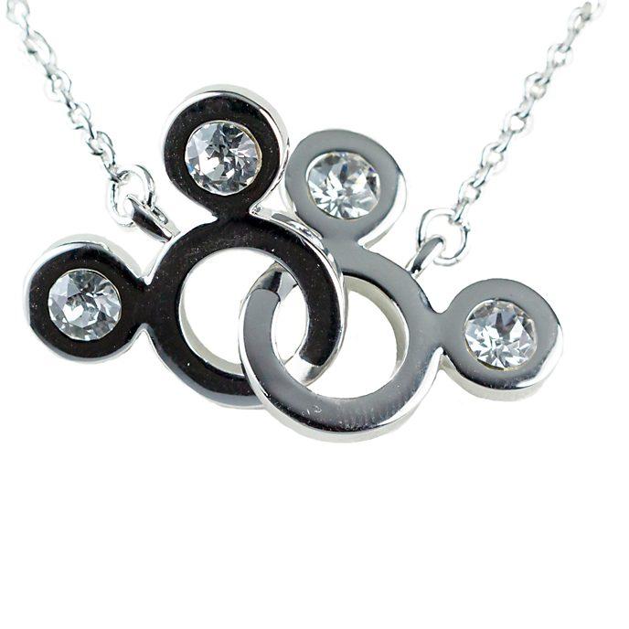 Arribas Mickey Mouse Interlocking Necklace