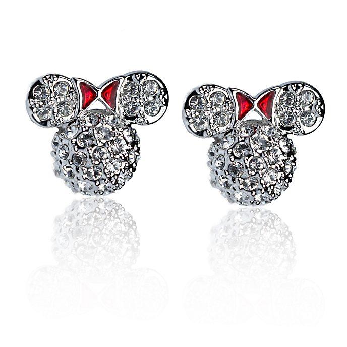 Arribas Minnie Mouse Stud Earrings