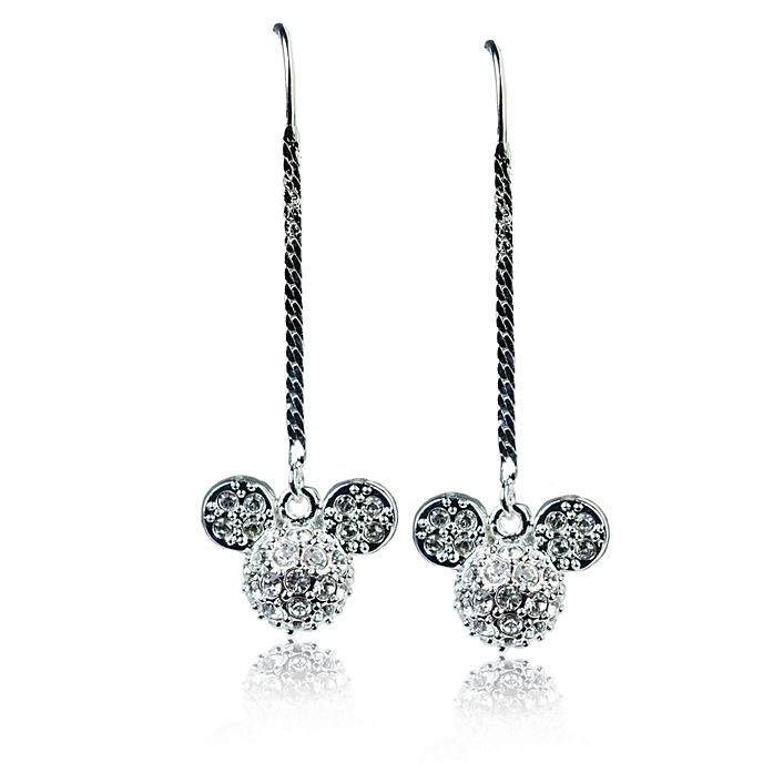 Arribas Mickey Mouse Dangle Earrings