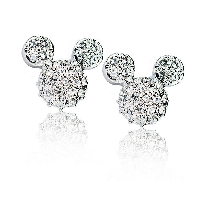 Arribas Mickey Mouse Stud Earrings