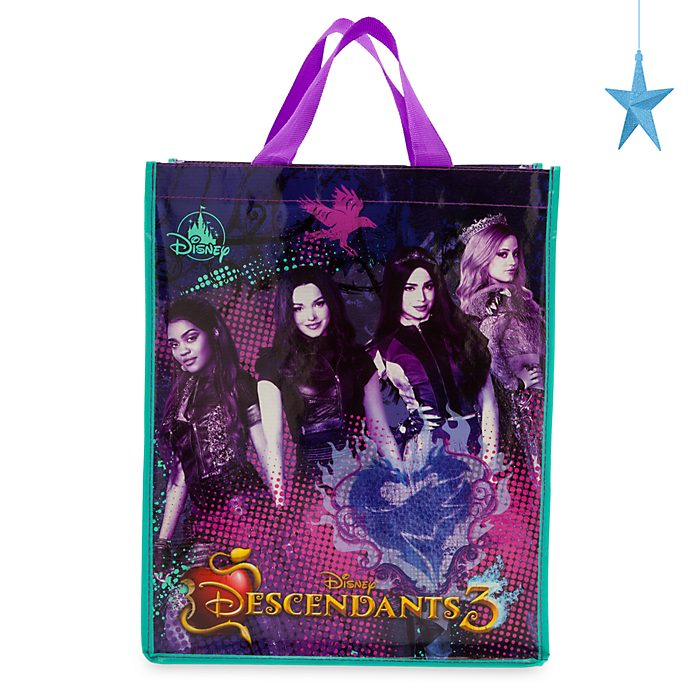 Disney Store - Disney Descendants3 - Mehrweg-Einkaufstasche, mittelgroß