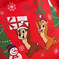Disney Store Chip 'n' Dale Holiday Cheer Reusable Shopper, Small