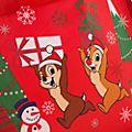 Disney Store - Holiday Cheer - Chip und Chap - Mehrweg-Einkaufstasche, klein