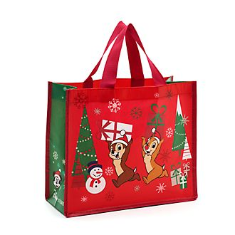 Borsa riutilizzabile piccola Holiday Cheer Cip e Ciop Disney Store