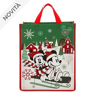Borsa riutilizzabile standard Holiday Cheer Topolino e Minni Disney Store