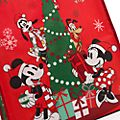 Disney Store Grand sac de shopping Mickey et ses amis, collection Holiday Cheer