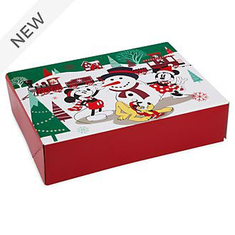 Disney Store Mickey and Friends Holiday Cheer Gift Box, Small
