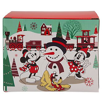 Scatola regalo per tazza Holiday Cheer Topolino e i suoi amici Disney Store
