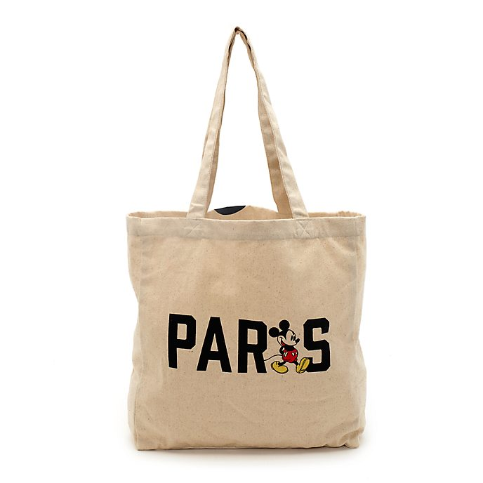 Disney Store Mickey Mouse Paris Reusable Shopper