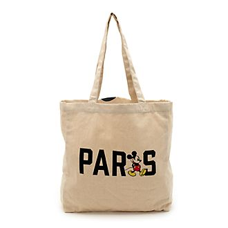 Bolsa compra reutilizable Paris Mickey Mouse, Disney Store