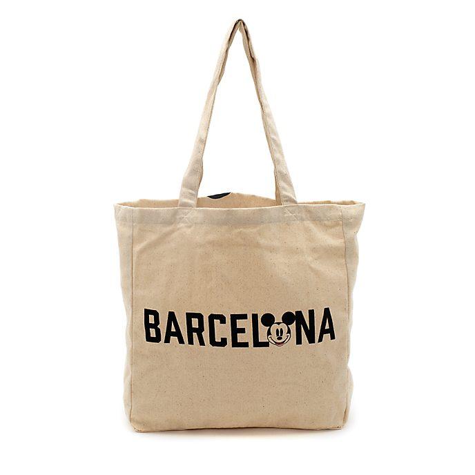 Disney Store Sac de shopping réutilisable Mickey Barcelone