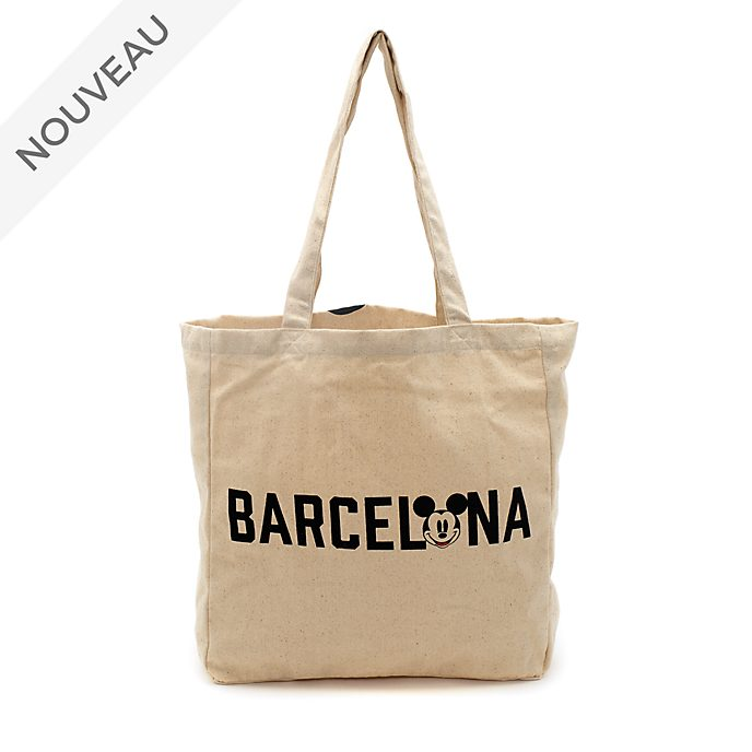Disney Store Sac de shopping réutilisable Mickey Barcelone