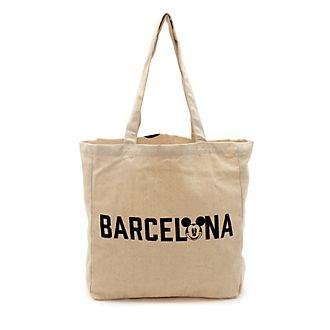 Disney Store Mickey Mouse Barcelona Reusable Shopper