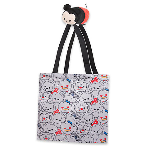 Mickey Mouse Tsum Tsum Plush Roll-Up Shopper Bag