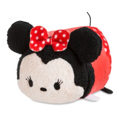 Minnie Mouse Tsum Tsum Plush Roll-Up Shopper Bag