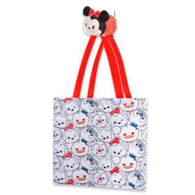 Minnie Maus - Disney Tsum Tsum Einkaufstasche zum Zusammenrollen