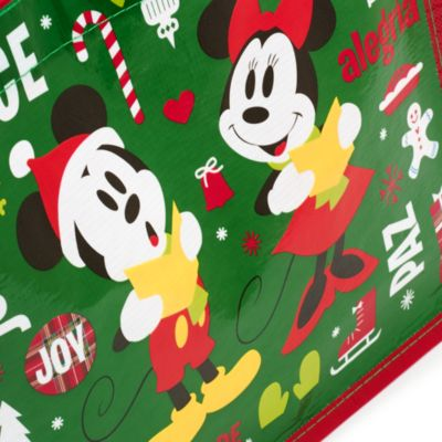Mickey Mouse and Friends Small Reusable Christmas Bag