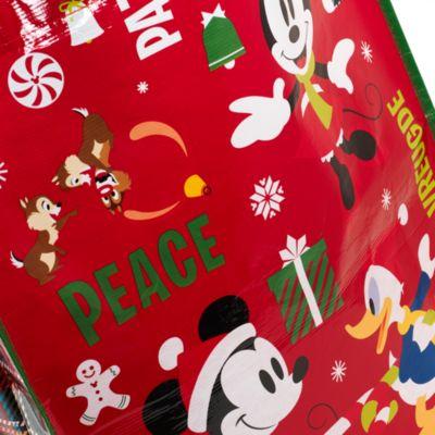 Borsa natalizia grande riutilizzabile Topolino e i suoi amici